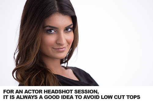 cool headshot ideas